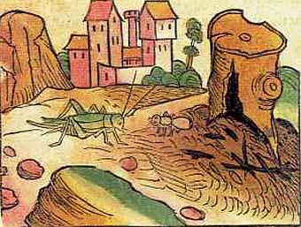 illustrationen aus der ulmer ausgabe des sop 1476